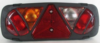 Universal Rear Back Tail Light Lamp Passenger N/S Left Replacement Lens Only