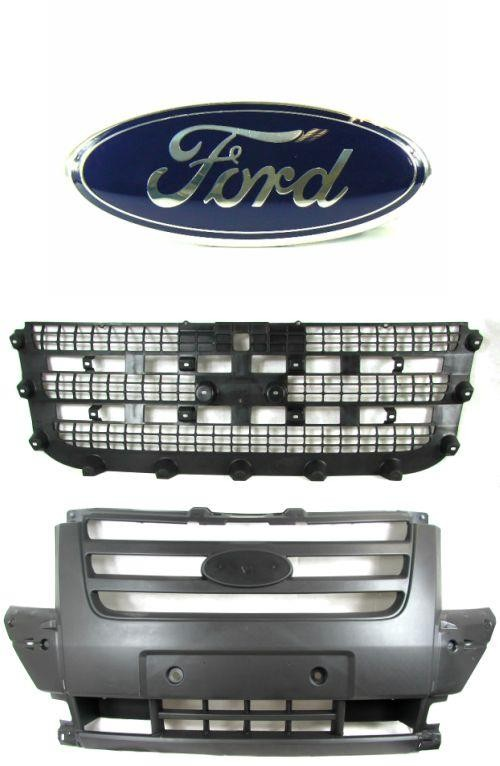 Ford Transit Mk7 Front Centre Bumper Grille With Mesh And