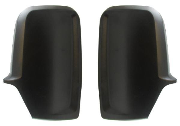 VW Crafter 2006-2017 Black Door Wing Mirror Cover Pair Left /& Right