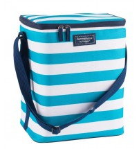 Large Insulated Family Cool Bag 20L Double Zip Adjustable Strap Cooler 20 Litre
