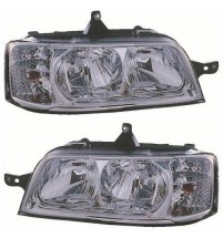 (M) Citroen Relay Fiat Ducato Peugeot Boxer Headlight (LHD) 2002-2006 Pair H7/H1 Genuine Fiat 1347692080 1347690080
