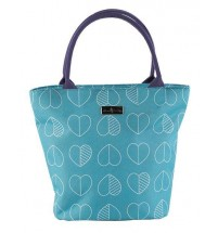 Lunch Teal Tote Cooler bag, Portable Carry hardwearing and Cool