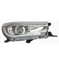 Toyota Hi-Lux Headlight Headlamp 6/2016 Onwards Driver O/S Right Black Inner