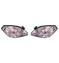 Vauxhall Combo Headlight Headlamp Crystal Clear Indicator Pair 2006-3/2012
