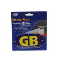 Magnetic GB Number Plate for Driving in Europe