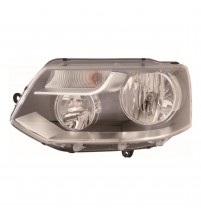 Transporter T5 Inc.Caravelle Headlight 2010-8/2016 Twin Reflector O/S Incl.Motor