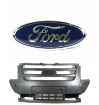 Ford Transit Mk7 Front Centre Bumper Grille Incl.Logo Name Plate Badge 2006-2013