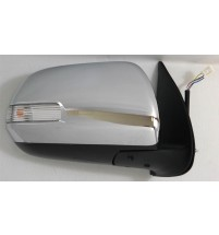 Toyota Hi-Lux Door Mirror Electric Indicator Chrome Drivers O/S Right 2012>