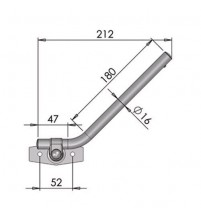 Mirror Arm 16mm Diameter