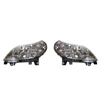 Citroen Relay Headlight 5/2011-9/2014 Pair Incl.Motor Purple Plug 1369498080