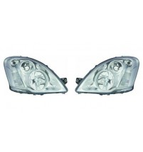 Iveco Daily Mk.4 Headlight Headlamp Excl. Fog Clear Indicator Pair 7/2011-9/2014