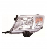 Toyota Hi-Lux Headlight Headlamp 2012-10/2016 Passenger N/S Left Clear Indicator