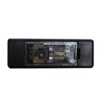 Nissan Pathfinder Rear Number Plate Lamp Central Bulbholder Incl. Bulb 2005-2014