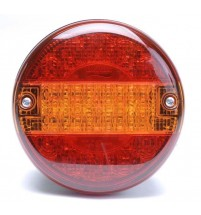 Britax Round LED 140mm Hamburger Light Lamp STI Truck Trailer Lorry L14.10.L24V