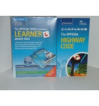 The Official DVSA Complete Learner Pack with FREE HIGHWAY CODE BOOK NEW 2015