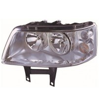 Transporter T5 Inc.Caravelle Headlight 2003-4/2010 Left Twin Reflector Inc.Motor