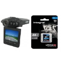 In Vehicle Recording Car Dash Camera With Full HD 1080P and GPS Tracking