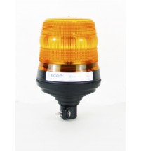 LED Beacon Flexi Din Pole Mount Amber EGE Reg 65 10V-30V Ecco 400 Series V11055