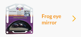 Magnum Frog Eye Mirror ( PAIR ) **** ONLY £36.95 DELIVERED ****