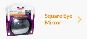Magnum Square Eye Mirror (Blindspot Auxilliary Clip-on Mirror) Universal 1320