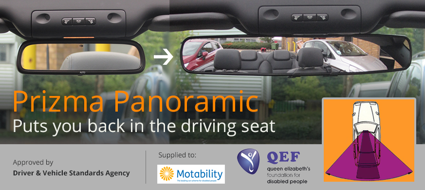 Prizma Panoramic - Puts you back in the driving seat